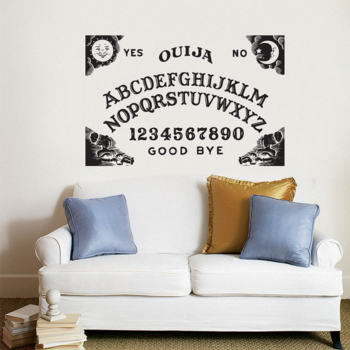 Ouija Board Vinyl Wall Art Decal