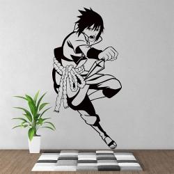 สติกเกอร์ติดผนัง อุจิวะ ซาสึเกะ Sasuke Uchiha Naruto Way of Ninja Wall Sticker (WD-0630)