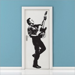 สติกเกอร์ติดผนัง Bruce Springsteen Wrecking Ball Tour Leg Wall Sticker (WD-0646)
