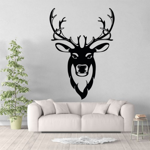 Antler Vinyl Wall Art Decal