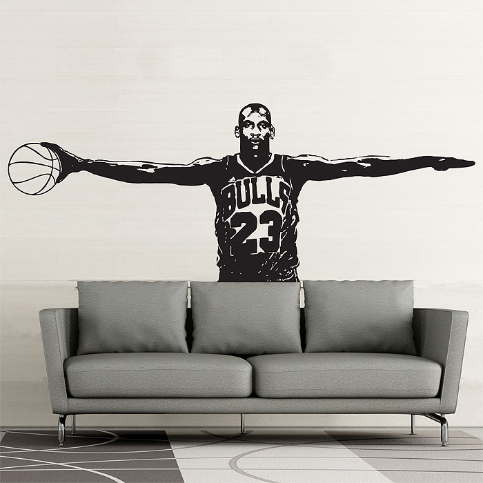 Merveilleux Michael Jordan Wings Vinyl Wall Art Decal