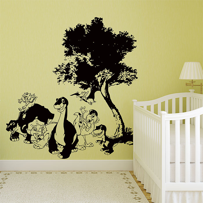 dinosaur the land before time vinyl wall art decal
