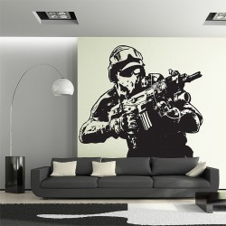 Ghost Recon Vinyl Wall Art Decal (WD-0671)