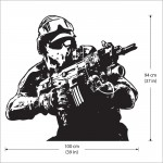 Ghost Recon Vinyl Wall Art Decal