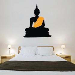 สติกเกอร์ติดผนัง Buddha Statue Wall Sticker (WD-0690)