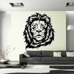 สติกเกอร์ติดผนังหัวสิงโต Lion Head Wall Sticker (WD-0696)