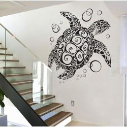 สติกเกอร์ติดผนัง เต่าทะเล Sea Turtle  Wall Sticker (WD-0697)