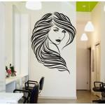 สติกเกอร์ติดผนัง Beauty Hair Salon Wall Sticker