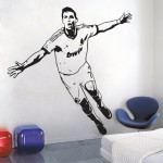 Cristiano Ronaldo The first top European league player Vinyl Wall Art Decal
