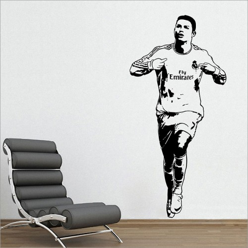 Cristiano Ronaldo One of the best football players Vinyl Wall Art Decal