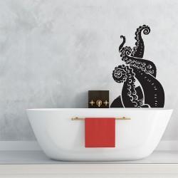สติกเกอร์ติดผนังหนวดปลาหมึกยัก Octopus Tentacles v2 Wall Sticker (WD-0715)