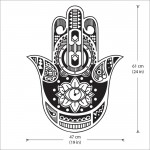 Hand of Fatima The Hamsa and Your Vinyl Wall Art Decal