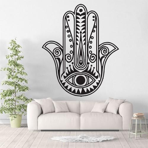 Hand of Fatima The Hamsa Vinyl Wall Art Decal