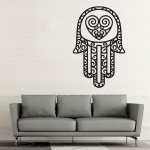 Hand of Fatima The Hamsa v4 Vinyl Wall Art Decal