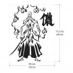 สติกเกอร์ติดผนัง ปู่ ยามะ บลีช เทพมรณะ Bleach / Wall Sticker