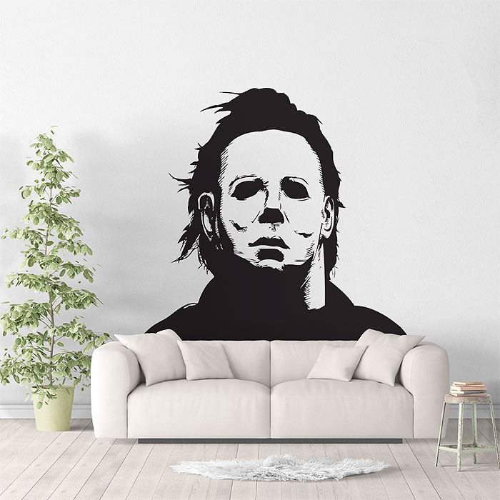 Michael Myers Halloween Vinyl Wall Art Decal