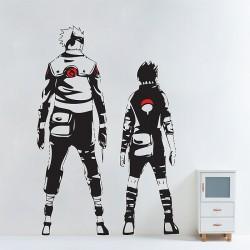 สติกเกอร์ติดผนัง Kakashi and Sasuke in Naruto Wall Sticker (WD-0763)