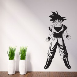 Dragon Ball Z Goku Vinyl Wall Art Decal (WD-0767)