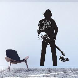สติกเกอร์ติดผนัง Springsteen Born to Run Wall Sticker (WD-0768)