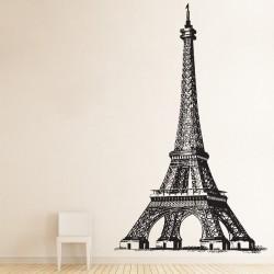 สติกเกอร์ติดผนัง หอไอเฟล Eiffel TowerWall Sticker (WD-0771)