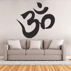 สติกเกอร์ติดผนัง Hindu om aum symtol buddhism Wall Sticker (WD-0779)