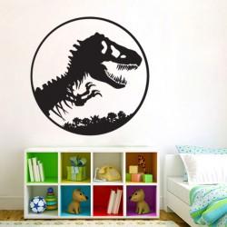 สติกเกอร์ติดผนังไดโนเสาร์ ทีเร็กซ์ Jurassic Park Wall Sticker (WD-0783)