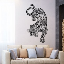 Leopard Vinyl Wall Art Decal (WD-0823)