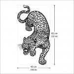 Leopard Vinyl Wall Art Decal