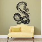 สติกเกอร์ติดผนังรูปงู Snake Wall Sticker