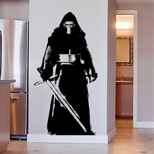 สติกเกอร์ติดผนังสตาร์ วอร์ส Kylo Ren Star Wars Wall Sticker