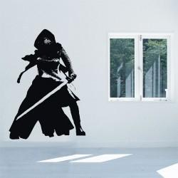 สติกเกอร์ติดผนังสตาร์ วอร์ส Kylo Ren Star v2 Wars Wall Sticker (WD-0850)
