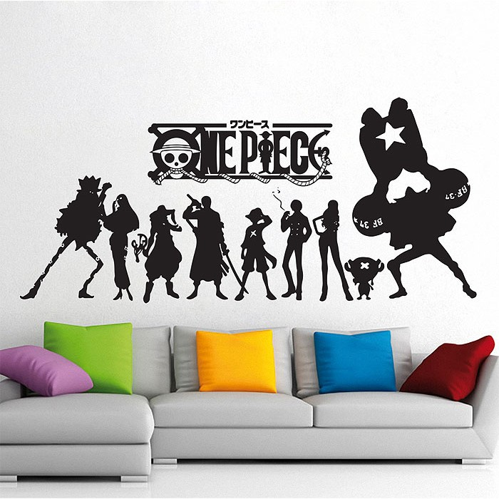 One Piece Straw Hat Pirates Vinyl Wall Art Decal