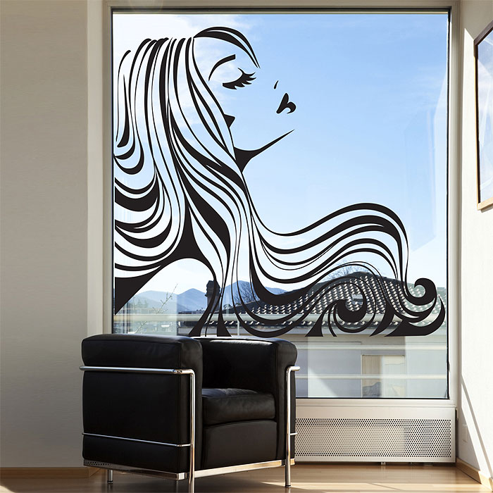 Tattoo Wall Art beauty hair salon vinyl wall art decal
