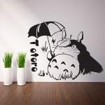 สติกเกอร์ติดผนัง ภาพโทโทโร่ Totoro Wall Sticker