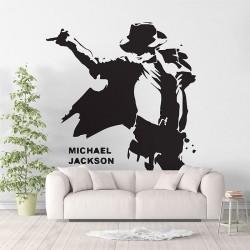 สติกเกอร์ติดผนัง ไมเคิล แจ็กสัน Michael Jackson Wall Sticker (WD-0862)