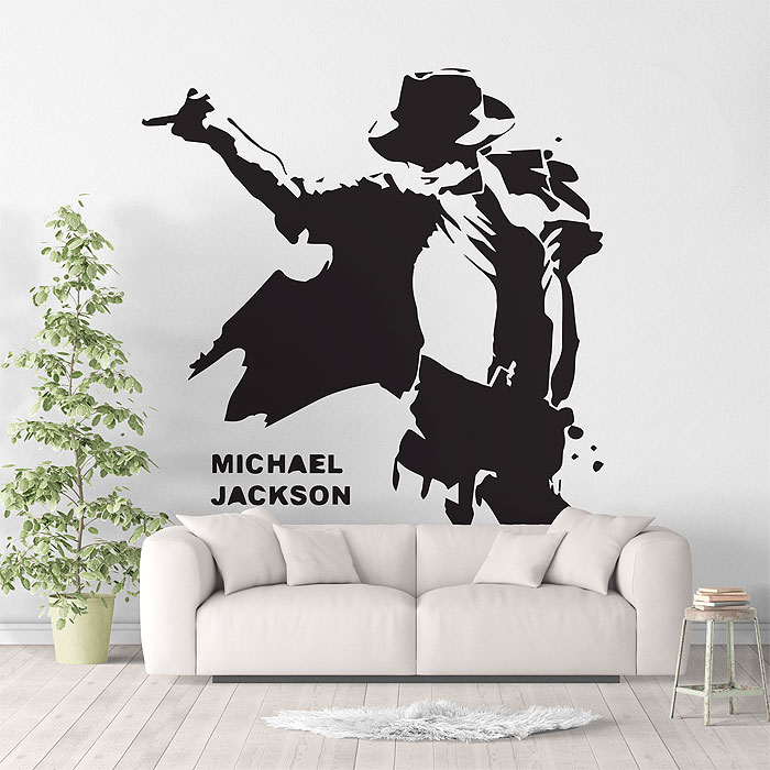 Michael Jackson Vinyl Wall Art Decal