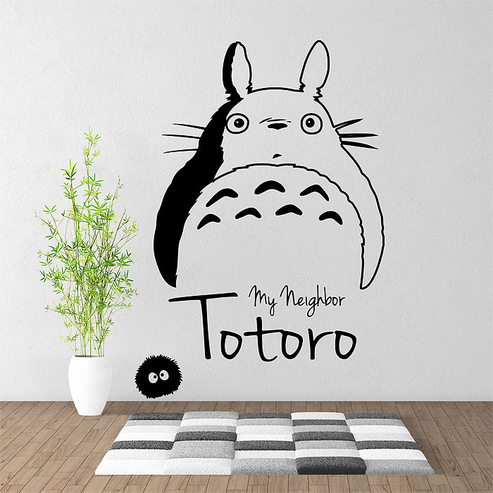 Totoro Vinyl Wall Art Decal