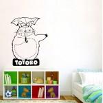 สติกเกอร์ติดผนัง โทโทโร่เพื่อนรัก Totoro Wall Sticker