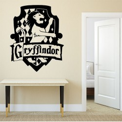 Harry Potter Gryffindor House Vinyl Wall Art Decal (WD-0869)