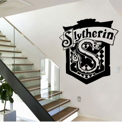 Harry Potter Slytherin House Vinyl Wall Art Decal (WD-0870)
