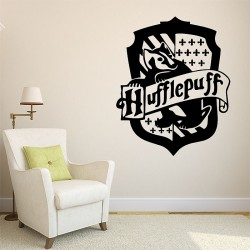 Harry Potter Hufflepuff House Vinyl Wall Art Decal (WD-0872)
