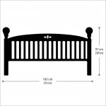 Classic Headboard Vinyl Wall Art Decal