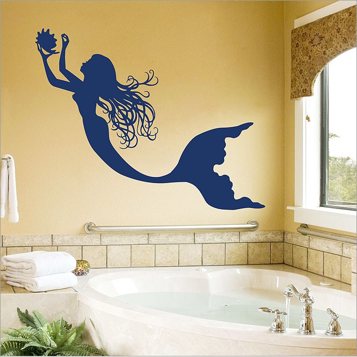 Charmant Mermaid Vinyl Wall Art Decal
