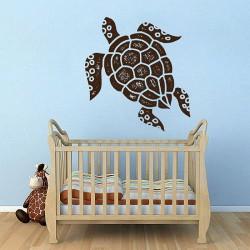 สติกเกอร์ติดผนังเต่าทะเล Turtle Wall Sticker (WD-0893)