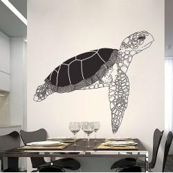 สติกเกอร์ติดผนังรูปเต่า Turtle Wall Sticker (WD-0899)