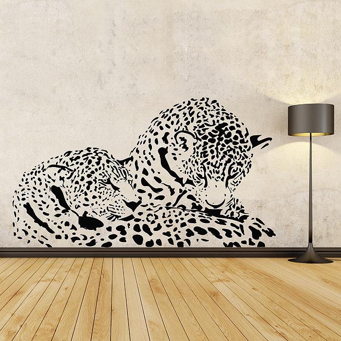 Cheetah Vinyl Wall Art Decal