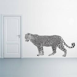 Leopard Vinyl Wall Art Decal (WD-0913)