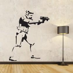 Star Wars Stormtrooper WandaufkVinyl Wall Art Decal (WD-0925)