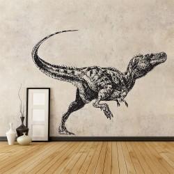 สติกเกอร์ติดผนัง ภาพ ไดโนเสาร์ Dinosaur ALECTROSAURUS Wall Sticker (WD-0927)