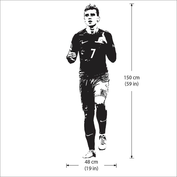 Antoine Griezmann Football Player Vinyl Wall Art Decal